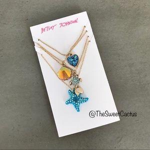 Betsey Johnson Necklace Set
